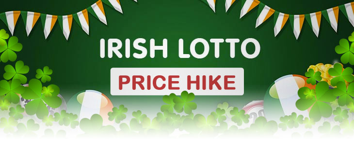 irish lotto price increase