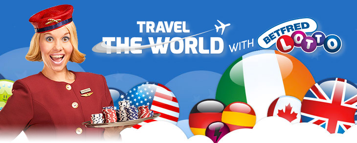 Betfred Lotto Travel The World